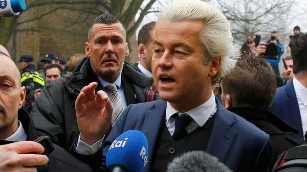 Geert Wilders es el favorito para las elecciones del 15 de marzo (Reuters)