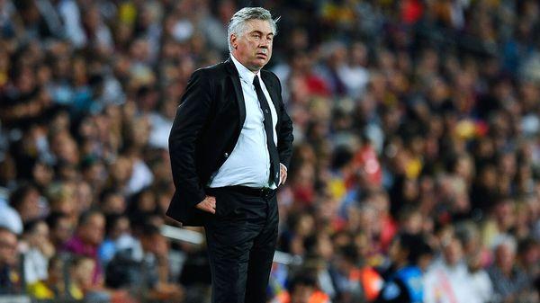 Ancelotti no la paso bien en Berlín después del partido (Getty)