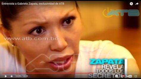Zapata en el programa difundido el domingo en la red ATB.