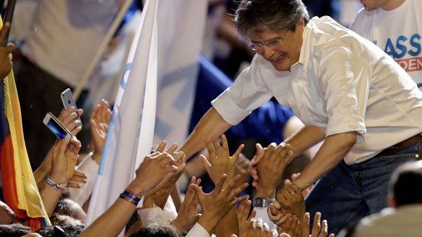 Ex ministro de Economía, 61 años, candidato por Creando Oportunidades —CREO— (Reuters)