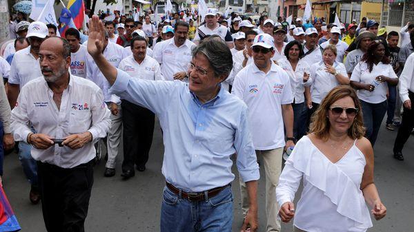Guillermo Lasso hizo una gran carrera en el mundo de las finanzas(Reuters)