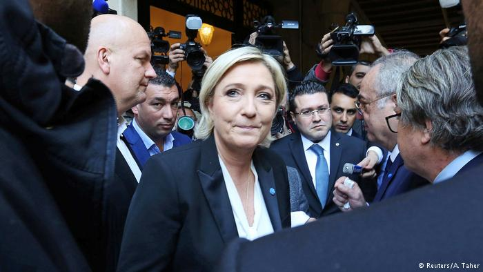 Libanon Marine Le Pen in Beirut (Reuters/A. Taher)