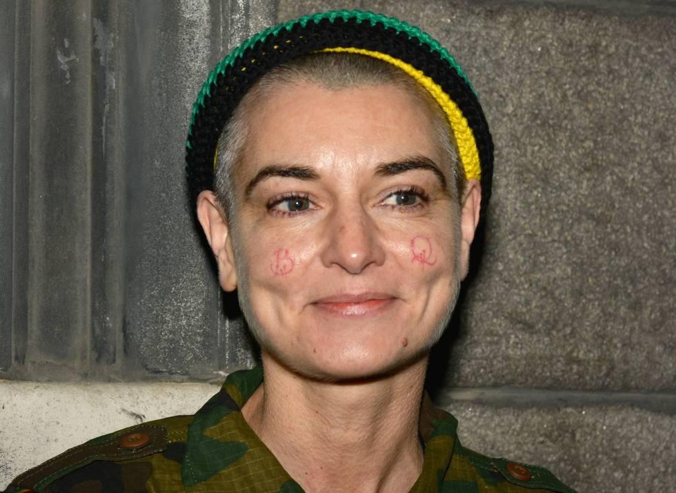 La cantante Sinéad O'Connor