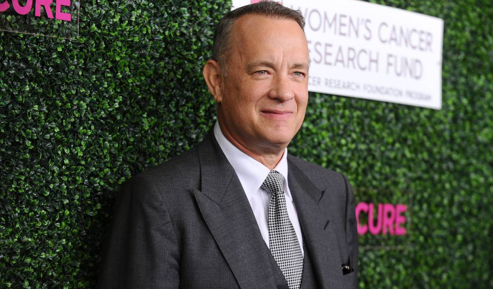 El actor Tom Hanks, en el Beverly Wilshire Four Seasons Hotel.
