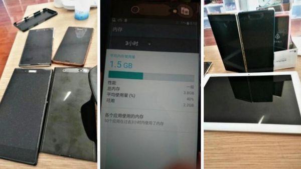 Algunas imágenes del sony XZ 2 difundidas las primeras semanas de febrero.