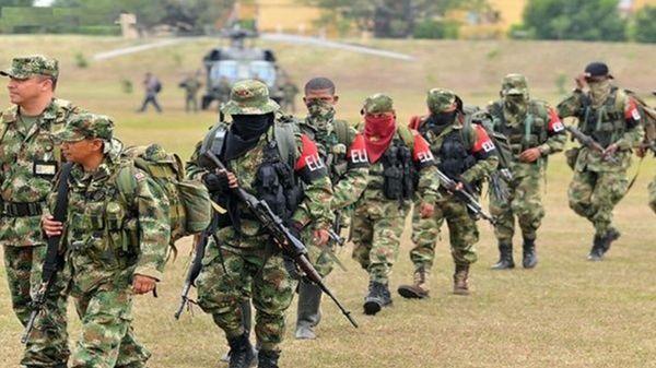 Los terroristas del ELN se movilizan para copar los territorios abandonados por las FARC