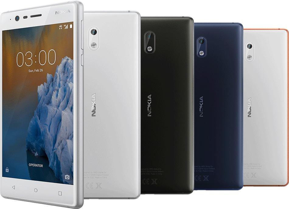 Diseño del Nokia 3