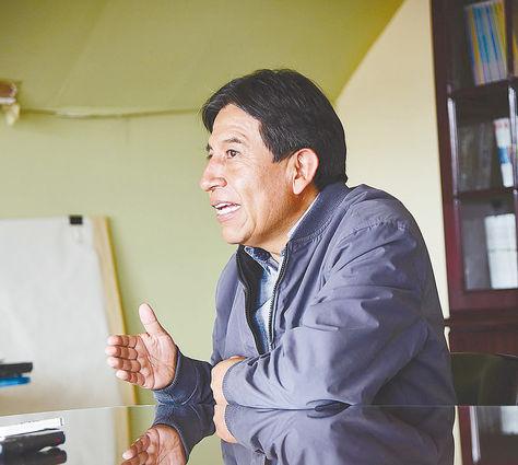 Conversación El excanciller Choquehuanca evalúa su gestión de 11 años en la entrevista con La Razón. Foto: Alejandra Rocabado