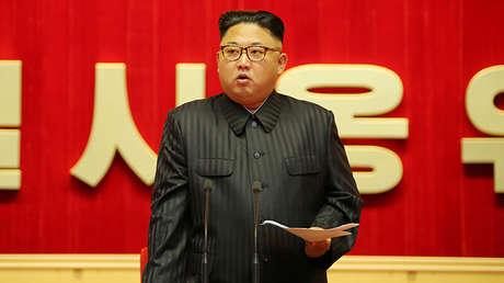 El presidente de Corea del Norte, Kim Jong-un, en Pionyang, el 4 de agosto de 2016.