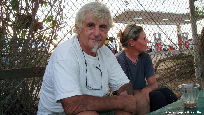 Somalia 2009 - Jürgen Kantner & Sabine Merz, Seeleute (Getty Images/AFP/M. Abdi)