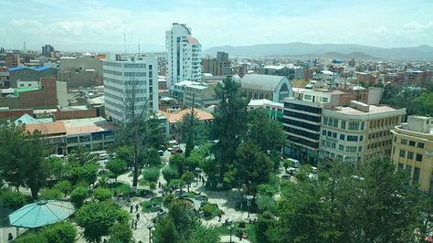 La ciudad de Oruro. Foto: Juan Mejía