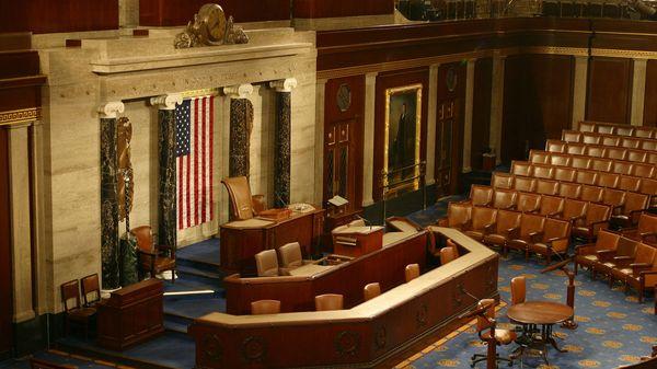 La Cámara de Representantes de los Estados Unidos donde hablará Trump esta noche