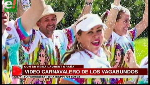 Los Vagabundos presentaron videoclip carnavalero