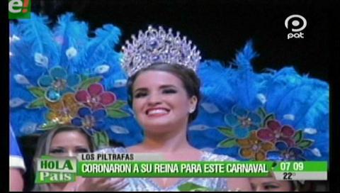 Los Piltrafas coronaron a Oriana Arredondo