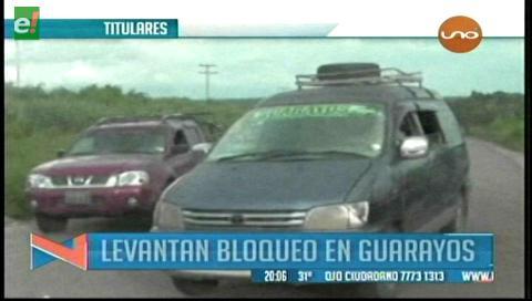 Video titulares de noticias de TV – Bolivia, noche del viernes 24 de febrero de 2017