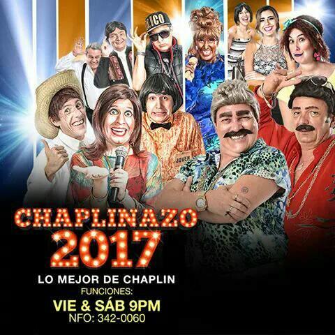 """Único fin de semana de Chaplin Show con lo mejor de su repertorio en el """"Rene Moreno"""""""