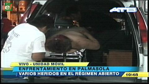 Un muerto y varios heridos por enfrentamiento en Palmasola