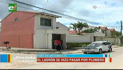 Un sujeto se hizo pasar por un plomero para robar en una vivienda