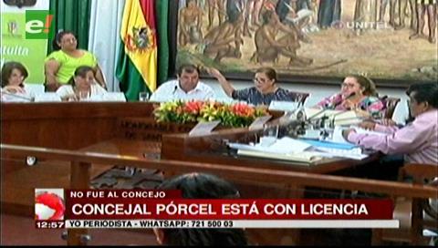 El concejal Rommel Pórcel pide licencia por salud