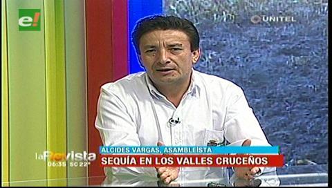 La sequía en la zona de los valles cruceños preocupa a los productores