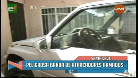 Santa Cruz: Delincuentes intimidan a dueños de vehículos y roban accesorios