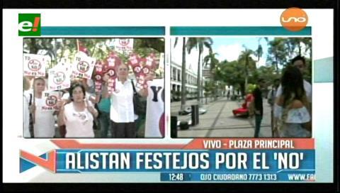 Santa Cruz: Plataformas ciudadanas inician festejo por el 21F