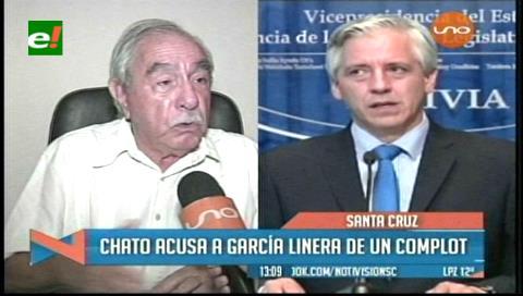 «Chato» Peredo acusa a García Linera de dañar la imagen de Evo Morales