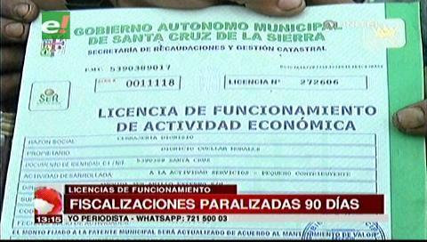El SER suspende por tres meses la fiscalización de licencias para negocios