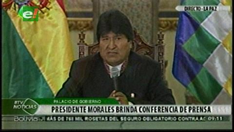 Evo se pregunta por qué huyó Chávez y descarta manipulación sobre Zapata, su exnovia