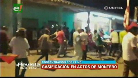 Investigan gasificación a concentración ciudadana por el NO en Montero