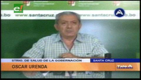 """Oscar Urenda: """"No permitiremos un paro abusivo contra el Hospital Oncológico"""""""