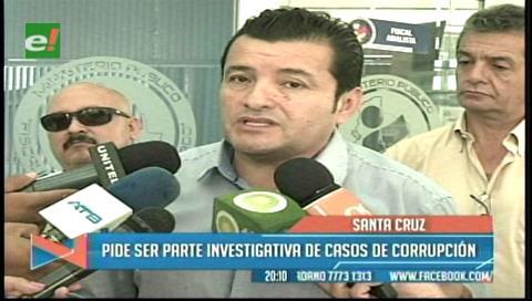 Concejal Fernández pide ser parte investigativa en casos de corrupción en la Alcaldía cruceña