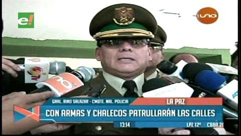 La Policía crea unidad de élite en homenaje al policía héroe Juan Apaza