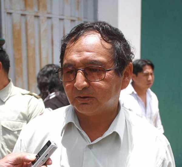 Lino Condori asegura no temer a las auditorías de Adrián Oliva