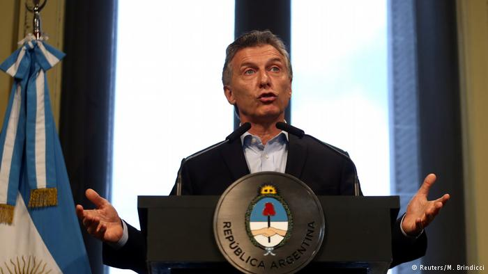 Argentinien Präsident Mauricio Macri (Reuters/M. Brindicci)