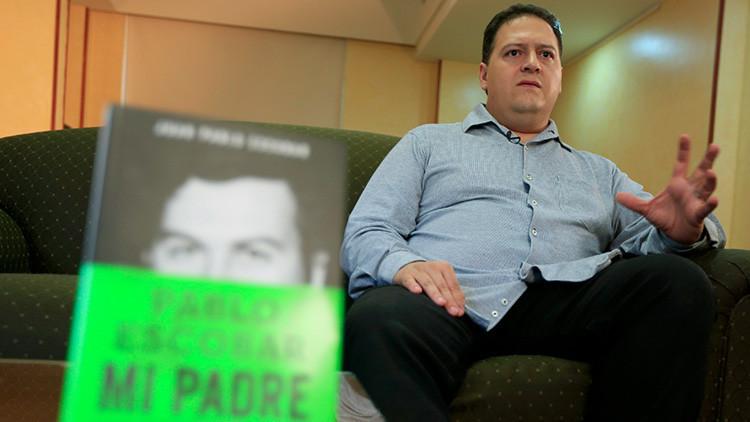 El insólito motivo por el que recibió amenazas el hijo de Pablo Escobar en Colombia