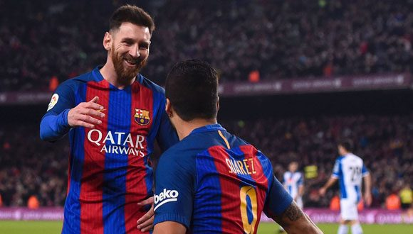 Resultado de imagen para Barcelona goleó y le quitó la punta al Real Madrid