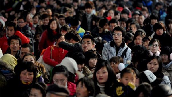 China es el país más poblado del mundo con cerca de 1,386 millones de habitantes.
