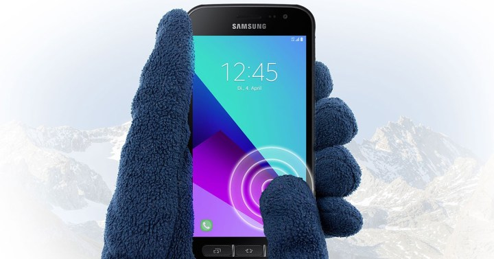 Samsung Xcover 4 guantes