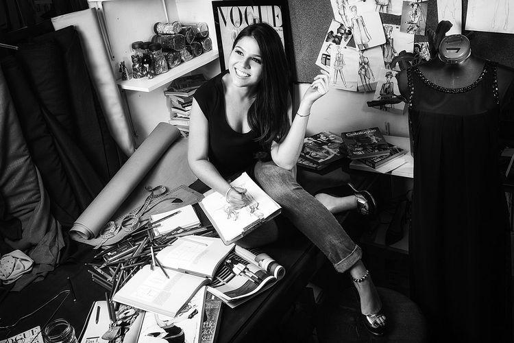 La diseñadora Suárez Weise. Foto. Suárez Weise