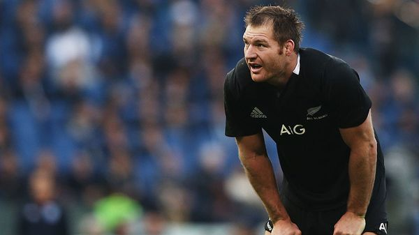 El rugbier neozelandés Ali Williams, campeón del mundo con los All Blacks (Getty Images)