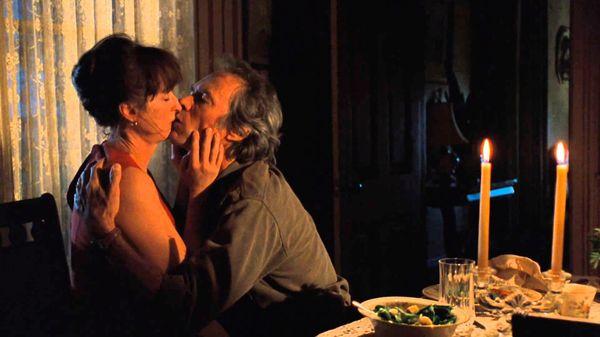 """Clint Eastwood y Meryl Streep en """"Los puentes de Madison"""""""