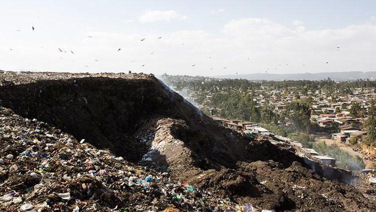 Basura mortal: un derrumbe en el mayor vertedero de Etiopía deja decenas de muertos
