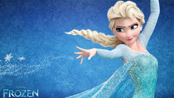 Elsa, el personaje de Frozen, la película de Disney que fue un éxito en todo el mundo