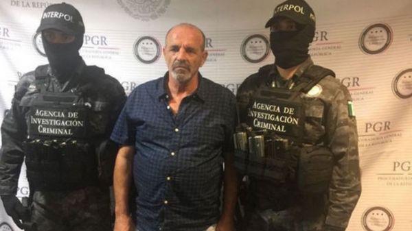 Gulllio Perrone, detenido en Tamaulipas el viernes 10 de marzo
