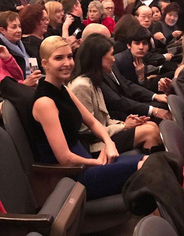 Ivanka Trump fue invitada por el primer ministro canadiense (Facebook)