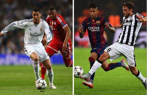 Real Madrid Vs Bayern y Barcelona Vs Juventus: cotejos electrizantes en cuartos de final.