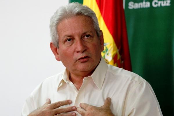 Rubén Costas, gobernador de Santa Cruz. (Archivo)
