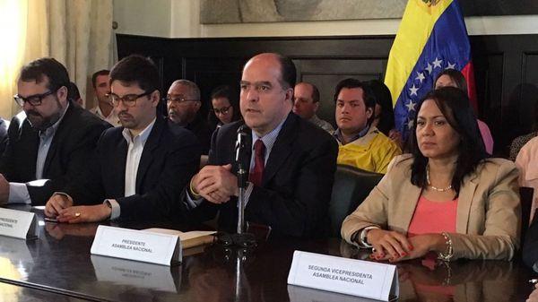 Julio Borges, presidente de la Asamblea Nacional de Venezuela (@globovision)