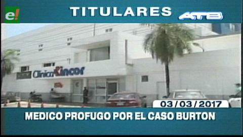 Video titulares de noticias de TV – Bolivia, mediodía del viernes 3 de marzo de 2017